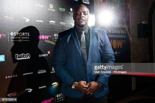 Adebayo Akinfenwa attending the NOW TV Esports Industry Awards 2017 at the Brewery in London PRESS ASSOCIATION Photo Picture date Monday November...