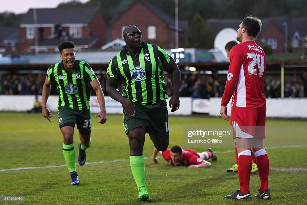 Accrington Stanley v AFC Wimbledon - Sky Bet League Two Play Off: Second Leg : News Photo