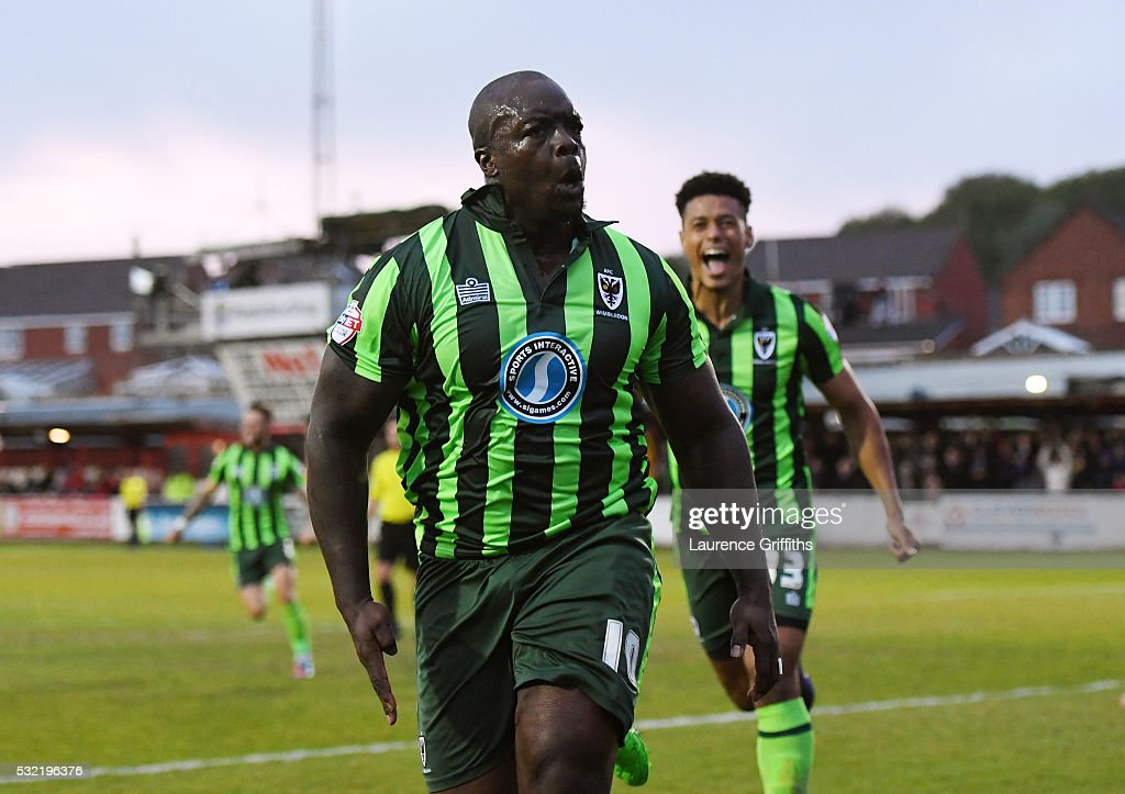Accrington Stanley v AFC Wimbledon - Sky Bet League Two Play Off: Second Leg
