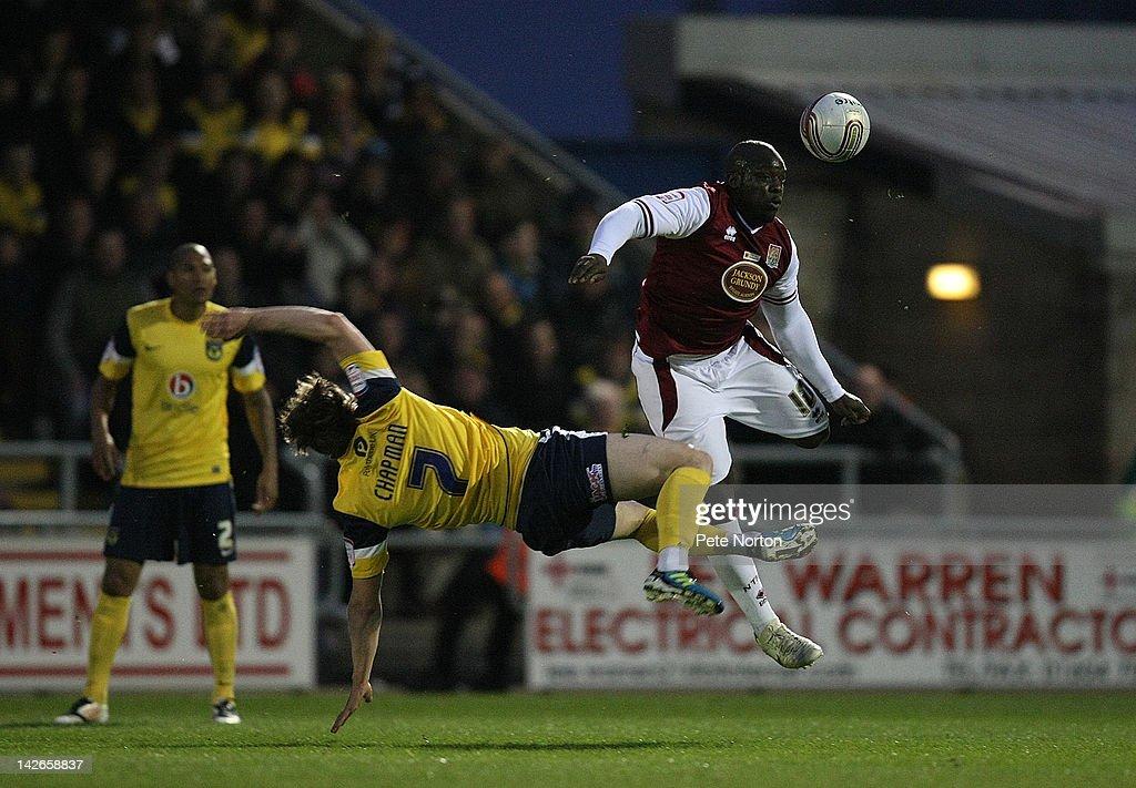 Northampton Town v Oxford United - npower League 2
