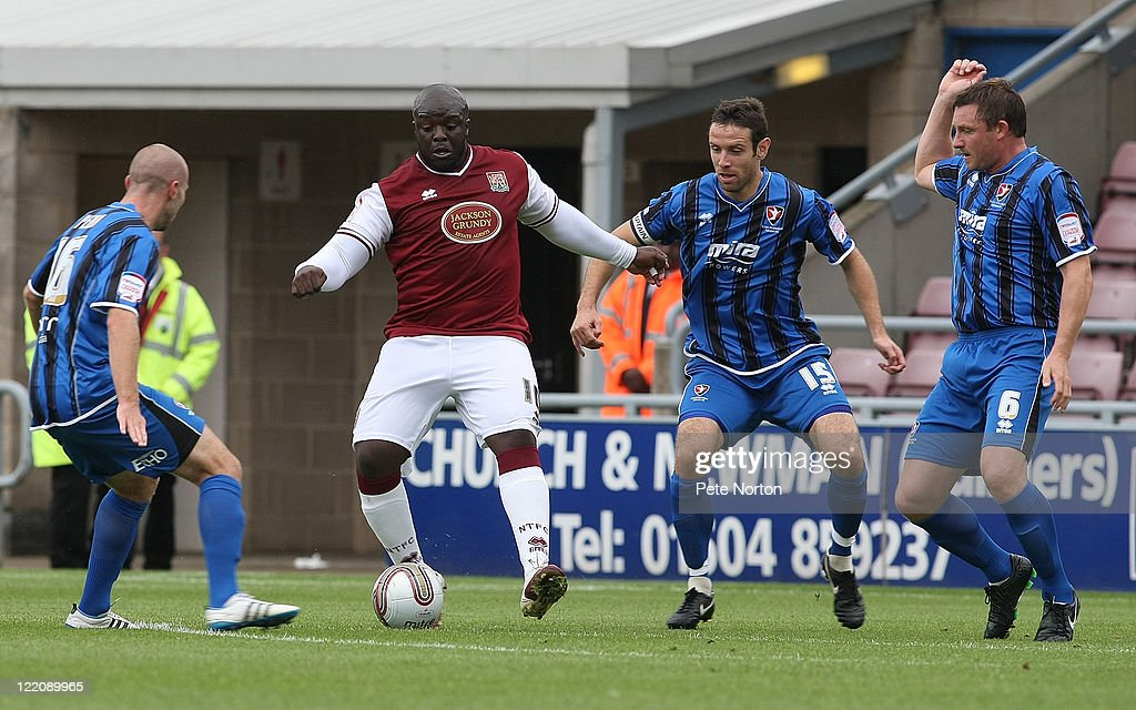Northampton Town v Cheltenham Town - npower League 2 : News Photo