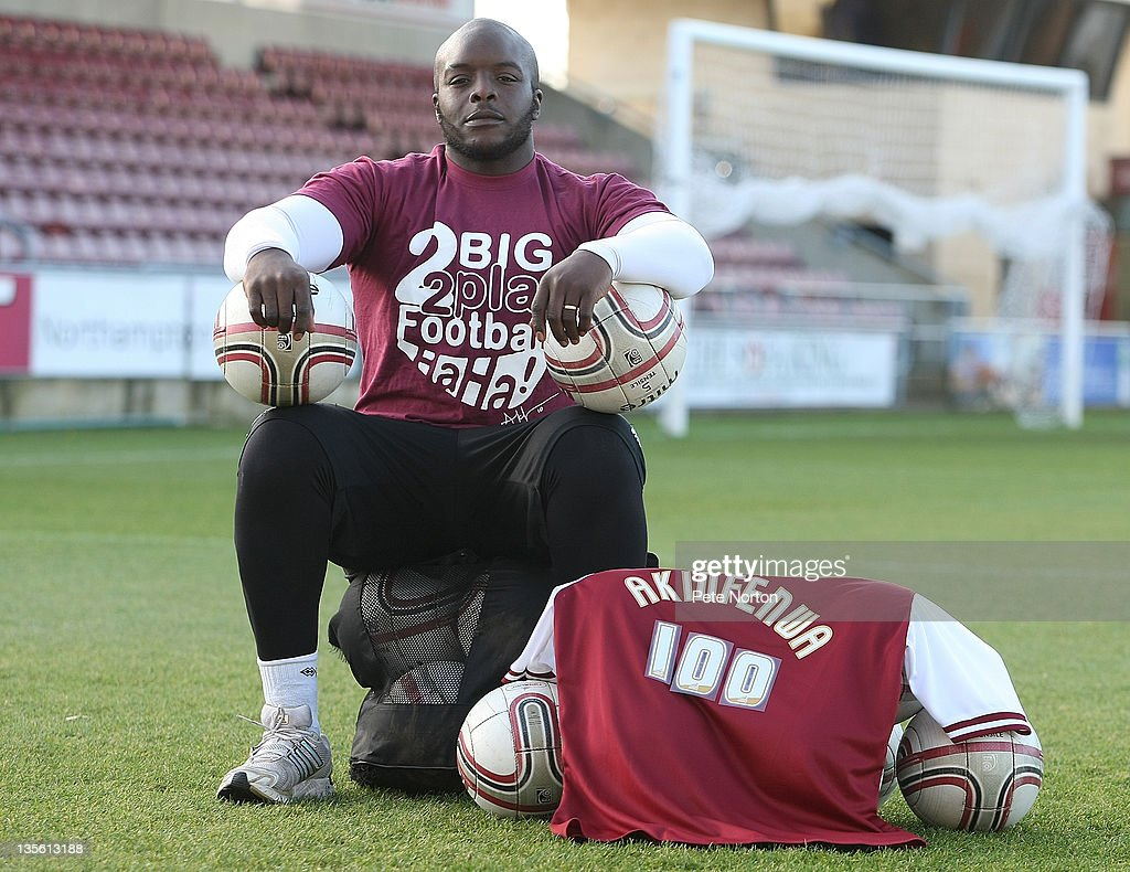 Adebayo Akinfenwa of Northampton Town Photo Shoot