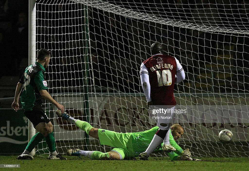 Northampton Town v Bristol Rovers - npower League 2