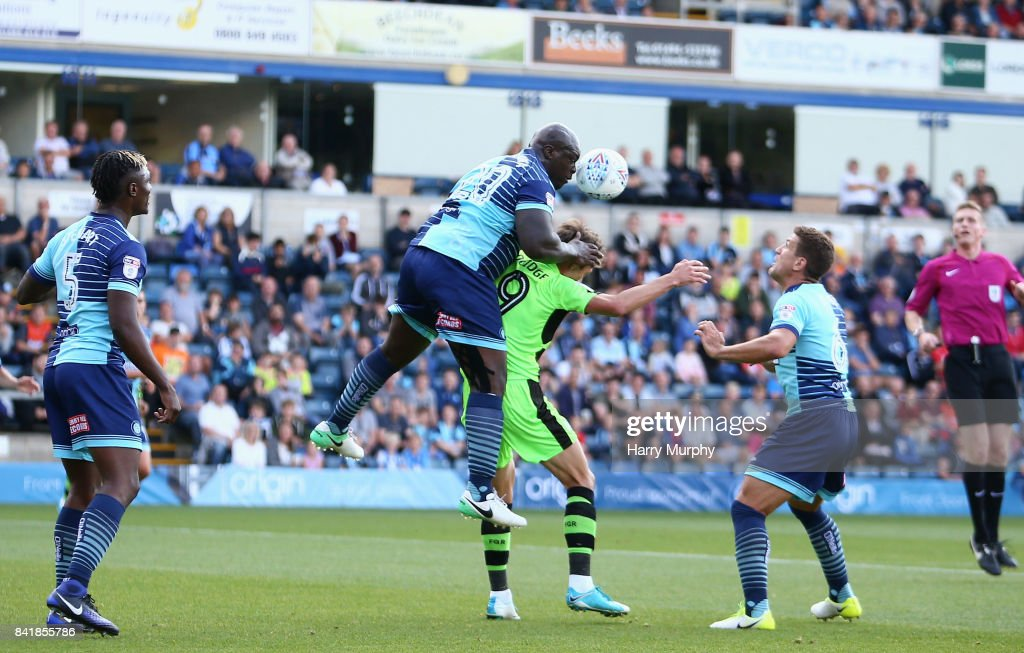 Wycombe Wanderers v Forest Green Rovers - Sky Bet League Two : News Photo