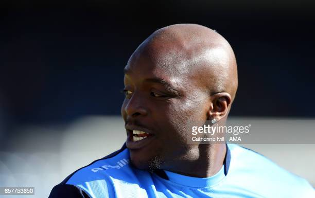 Adebayo Akinfenwa of Wycombe Wanderers during the Sky Bet League Two match between Wycombe Wanderers and Notts County at Adams Park on March 25 2017...