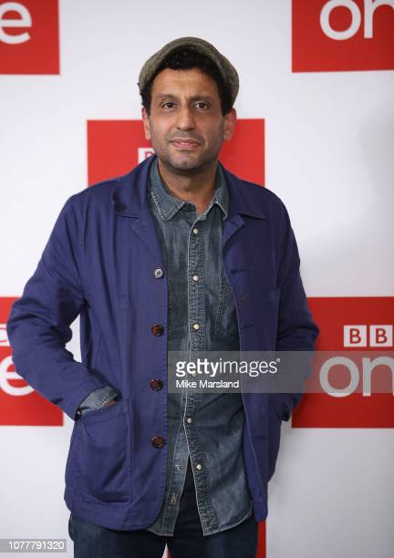 Adeel Akhtar attends a photocall for BBC One's 'Les Miserables' at BAFTA on December 05 2018 in London England