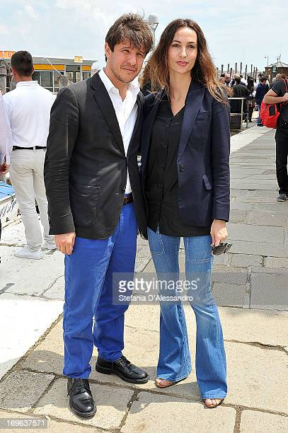 Adel Abdessemed attends Prima Materia VIP Preview on May 29 2013 in Venice Italy