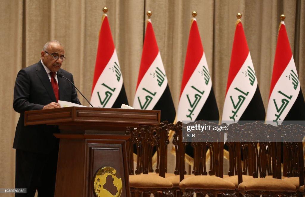 IRAQ-POLITICS-GOVERNMENT : News Photo