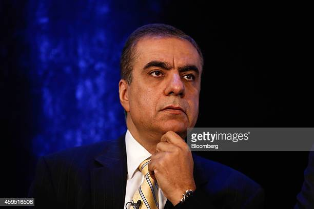 Adel Abdulla Ali chief executive officer of Air Arabia pauses during the 'Future of Air Transport' aviation conference in London UK on Monday Nov 24...