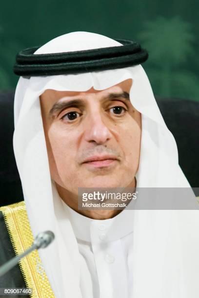 Adel bin Ahmed Al-Jubeir, foreign minister of Saudi Arabia on July 03, 2017 in Jeddah, Saudi Arabia.