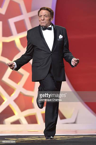 Adel Emam attends the 14th Marrakech International Film Festival Opening Ceremony on December 5 2014 in Marrakech Morocco