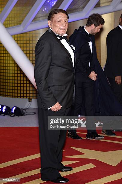 Adel Emam attends the Jury Photocall during the 14th Marrakech International Film Festival on December 5 2014 in Marrakech Morocco