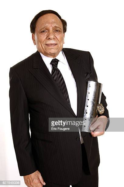 Adel Imam attends the 2nd edition of the 'Rencontres Internationales du Cinema Verite' in Paris