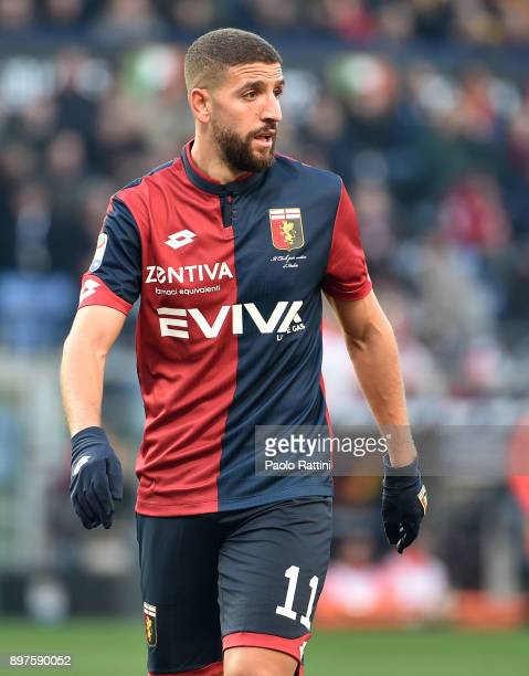 Adel Taarabt during the serie A match between Genoa CFC and Benevento Calcio at Stadio Luigi Ferraris on December 23 2017 in Genoa Italy