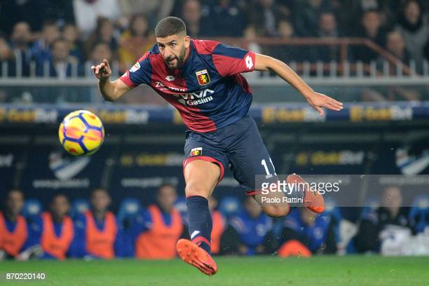 Adel Taarabt of Genoa in action during the Serie A match between Genoa CFC and UC Sampdoria at Stadio Luigi Ferraris on November 4 2017 in Genoa Italy