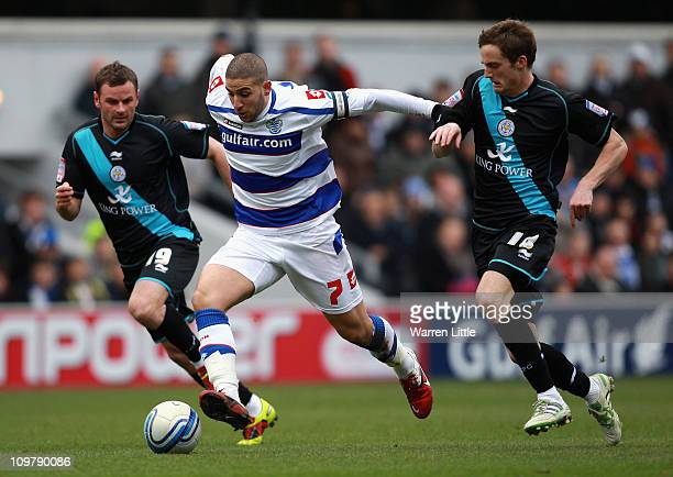 Adel Taarabt of Queens Park Rangers in action during the npower Championship match between Queens Park Rangers and Leicester City at Loftus Road on...