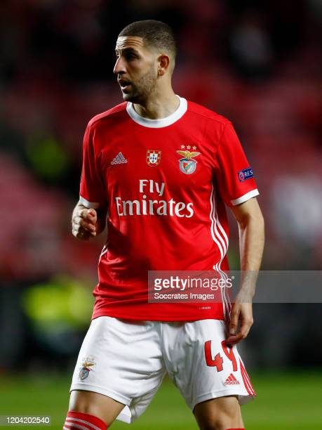 Adel Taarabt of SL Benfica during the UEFA Europa League match between Benfica v Shakhtar Donetsk at the Estadio Da Luz on February 27, 2020 in...