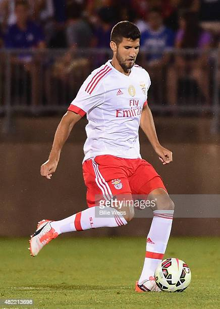 Adel Taarabt of SL Benfica in action during an International Champions Cup 2015 match against ACF Fiorentina at Rentschler Field on July 24 2015 in...