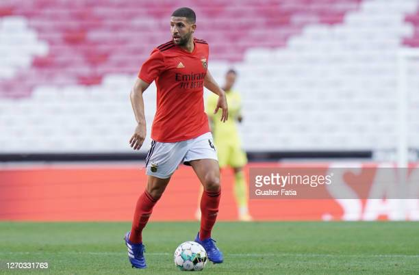 Adel Taarabt of SL Benfica in action during the Pre Season Friendly match between SL Benfica and SC Braga at Estadio da Luz on September 2, 2020 in...