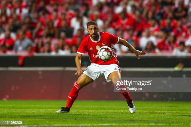 Adel Taarabt of SL Benfica in action during the - Pre-Season Friendly match between SL Benfica v RSC Anderlecht at Estadio da Luz on July 10, 2019 in...