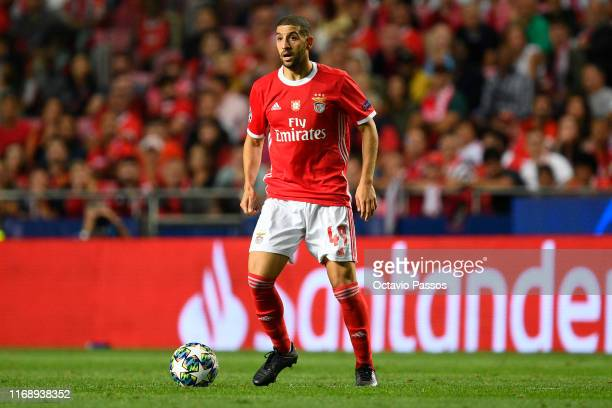 Adel Taarabt of SL Benfica in action during the UEFA Champions League group G match between SL Benfica and RB Leipzig at Estadio da Luz on September...