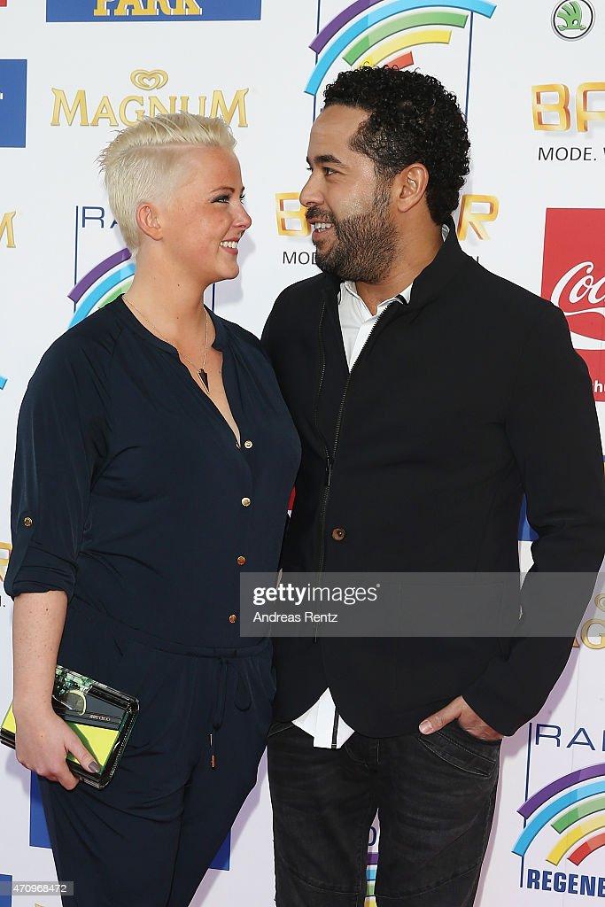 Adel Tawil And Girlfriend Lena Attend The Radio Regenbogen Award