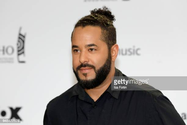 Adel Tawil arrives for the Echo Award at Messe Berlin on April 12 2018 in Berlin Germany