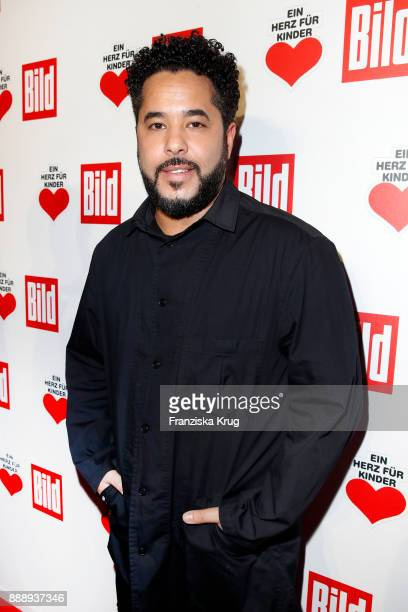 Adel Tawil attends the Ein Herz Fuer Kinder Gala reception at Studio Berlin Adlershof on December 9 2017 in Berlin Germany