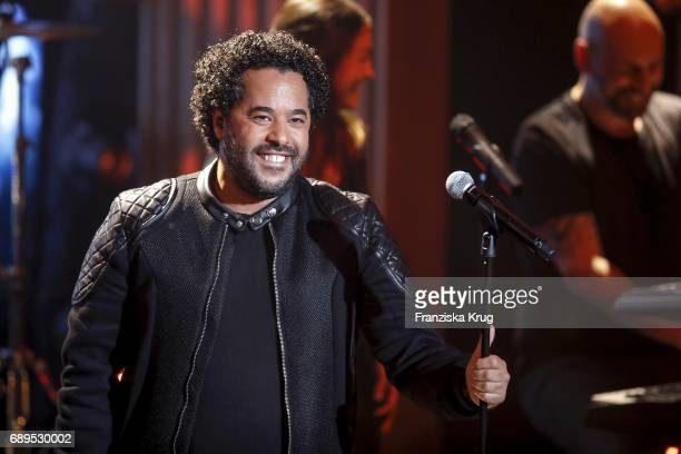 Adel Tawil during 'Mensch Gottschalk Das bewegt Deutschland' TV Live Show from Berlin at Studio Berlin Adlershof on May 28 2017 in Berlin Germany