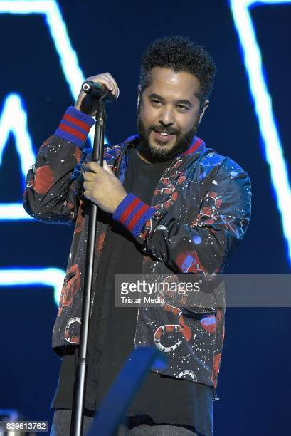 Adel Tawil performs during the 'Stars for Free' open air festival by 1046 RTL radio station at KindlBuehne Wuhlheide on August 26 2017 in Berlin...