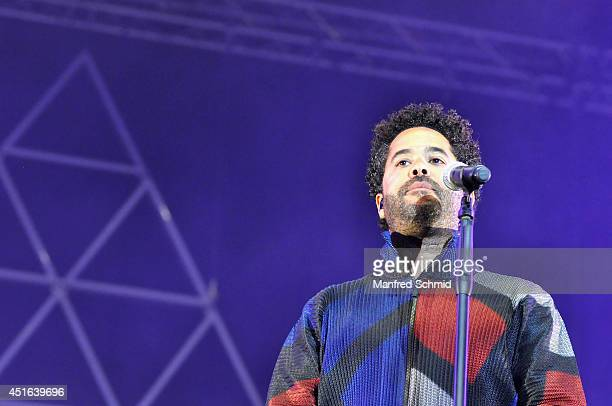 Adel Tawil performs on stage during the Donauinselfest at Donauinsel on June 29 2014 in Vienna Austria The Danube Island Festival the largest openair...