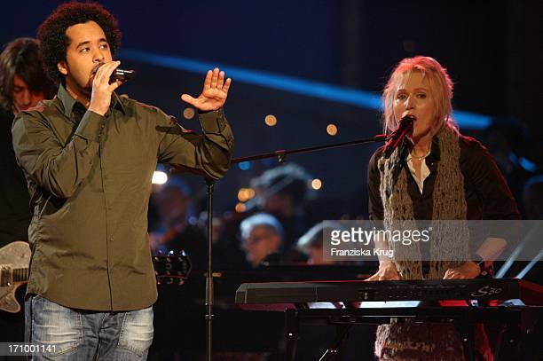 Adel Tawil Und Annette Humpe Von Der Band 'Ich Und Ich' Bei Der Generalprobe Zur Jose Carreras Gala In Leipzig Am 151205