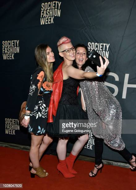 Adela Hittel Joseph Lago and guest attend Society NYFW Kick Off Party on September 6 2018 in New York City