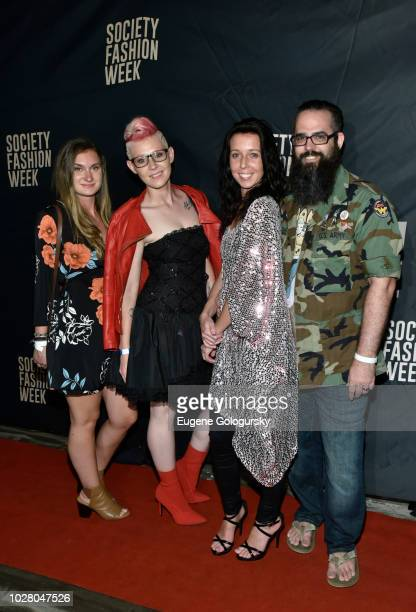 Adela Hittel Joseph Lago and guests attend Society NYFW Kick Off Party on September 6 2018 in New York City