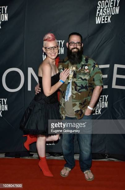 Adela Hittel Joseph Lago attend Society NYFW Kick Off Party on September 6 2018 in New York City