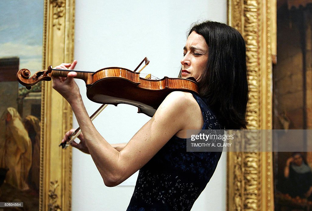 Adela Pena, violinist with the world-famous Eroica Trio, plays the