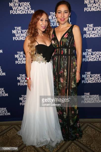 Adela Townley and Alejandra Naranjo attend The New York Women's Foundation Radical Generosity Gala at The Plaza on October 15 2018 in New York City
