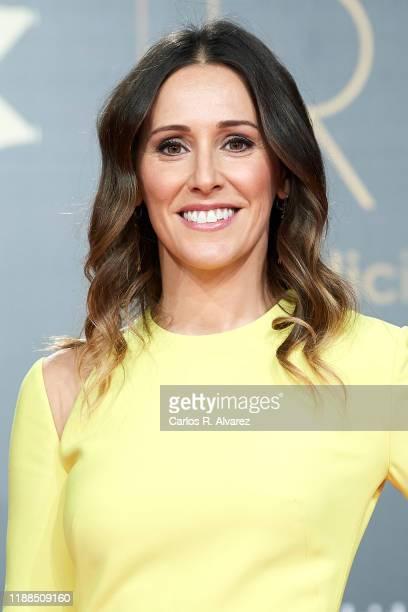 Adela Ucar attends 'Iris Academia de Television' awards at Nuevo Teatro Alcala on November 18 2019 in Madrid Spain