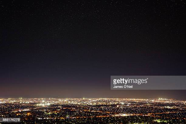 adelaide at night - image stock pictures, royalty-free photos & images