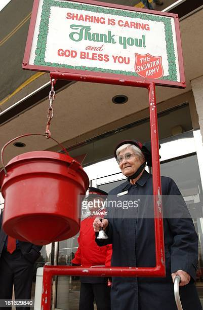 Adelaide 'Boots' Hayes age 86 was honored by The Salvation Army and the Foley's department store at Westminster Mall for being a bellringer for 20...
