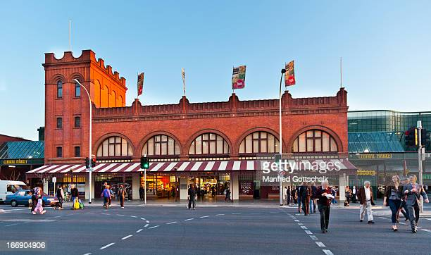 adelaide central market - adelaide market stock pictures, royalty-free photos & images