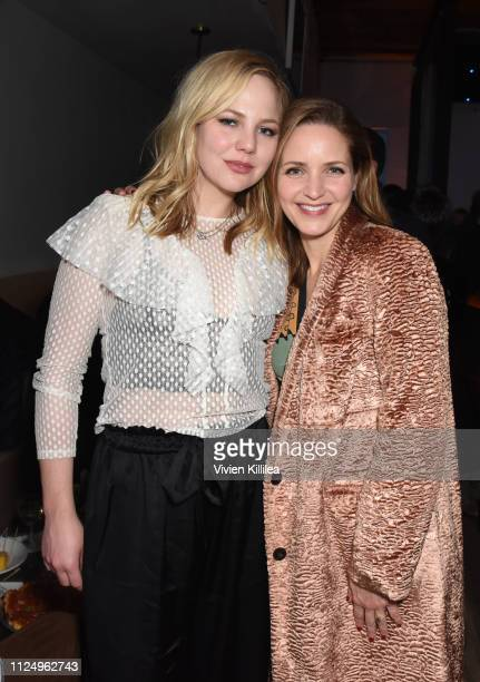 "Adelaide Clemens and Jordana Spiro at the ""To the Stars"" party at DIRECTV Lodge presented by ATT at Sundance Film Festival 2019 on January 25 2019 in..."