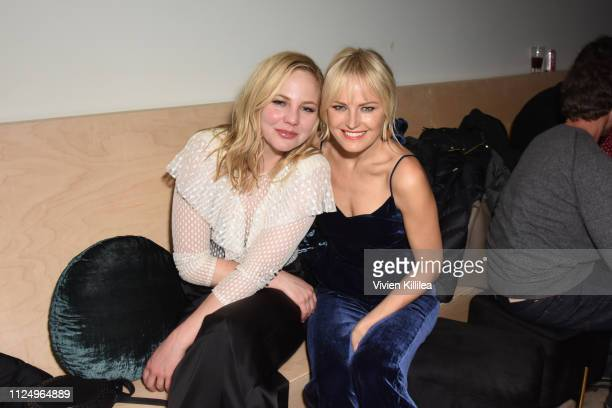 "Adelaide Clemens and Malin Akerman at the ""To the Stars"" party at DIRECTV Lodge presented by ATT at Sundance Film Festival 2019 on January 25 2019 in..."