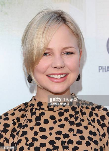 Adelaide Clemens attends the Generation Um Los Angeles premiere presented by GenArt and Phase 4 Films held at the ArcLight Hollywood on May 2 2013 in...
