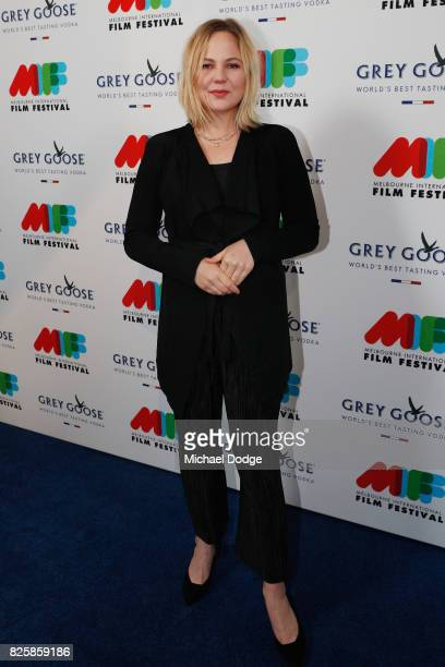 Adelaide Clemens poses ahead of the World Premiere of Jungle at the opening night of the 66th Melbourne International Film Festival on August 3 2017...