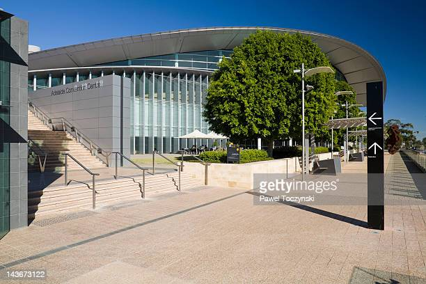 adelaide convention centre, adelaide - adelaide stock pictures, royalty-free photos & images