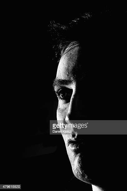 Adelaide Crows interim Senior Coach Scott Camporeale speaks to the media during an Adelaide Crows AFL press conference at AAMI Stadium on July 6 2015...