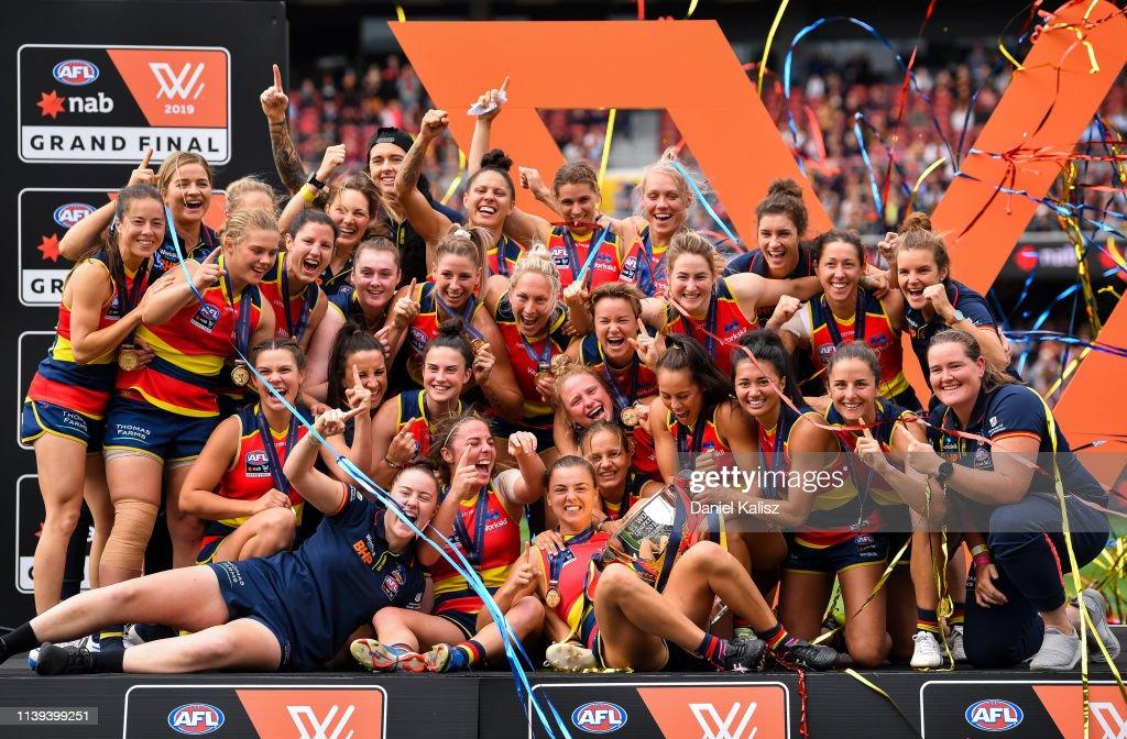 AFLW Grand Final - Adelaide v Carlton : News Photo