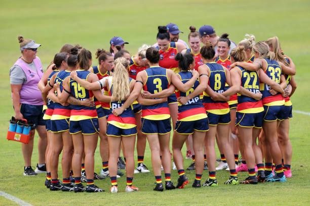 AUS: Adelaide v GWS - AFLW Pre-Season
