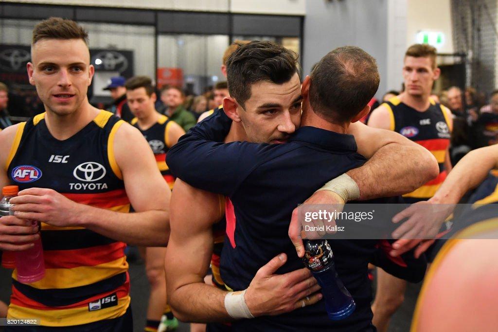 AFL Rd 18 - Adelaide v Geelong : News Photo